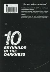 Brynhildr in the darkness T.10 - 4ème de couverture - Format classique