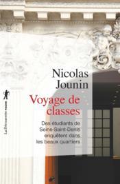 Voyage de classes - Couverture - Format classique
