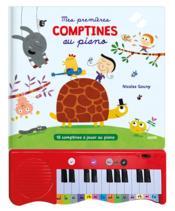 Mes premières comptines au piano ; 15 comptines à jouer au piano - Couverture - Format classique
