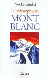 La philosophie du Mont Blanc - Intérieur - Format classique