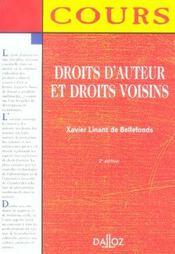 Droits d'auteur et droits voisins (2e édition) - Intérieur - Format classique