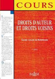 Droits d'auteur et droits voisins (2e édition) - Couverture - Format classique