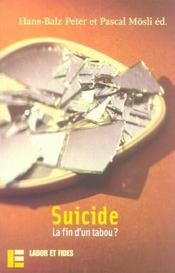 Suicide: la fin d'un tabou ? - Intérieur - Format classique
