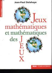 Jeux Mathematiques - Couverture - Format classique