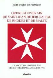 Les guerres hospitalieres de l'ordre de malte - Intérieur - Format classique