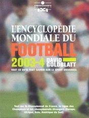 Encyclopedie Mondiale Du Football - Intérieur - Format classique