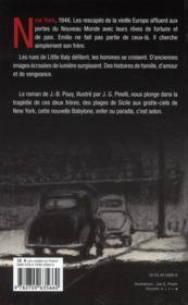 Fratelli - 4ème de couverture - Format classique