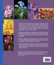 Aquarelle ; peindre les fleurs d'après photos - 4ème de couverture - Format classique