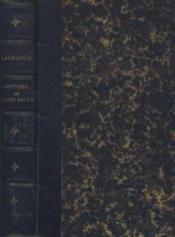 Histoire de sainte paule - Couverture - Format classique