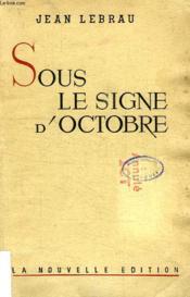 Sous Le Signe D'Octobre - Couverture - Format classique