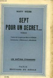 Sept Pour Un Secret... - Couverture - Format classique