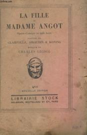 La Fille De Madame Angot - Couverture - Format classique