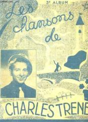 LES CHANSONS DE CHARLES TRENET. 3em ALBUM. - Couverture - Format classique