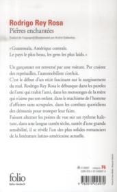 Pierres enchantées - 4ème de couverture - Format classique