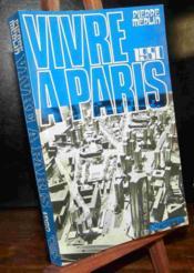 Vivre A Paris 1980 - Couverture - Format classique