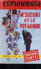 Mr. Suzuki Et Le Pot-Au-Noir - Couverture - Format classique