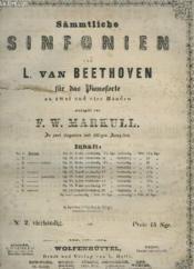 Sämmtliche Sinfonien - Für Das Pianoforte : N°9 : Zweite Sinfonie. - Couverture - Format classique
