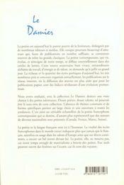Le Damier T.1 - 4ème de couverture - Format classique