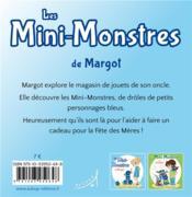 Les mini-monstres de Margot - 4ème de couverture - Format classique