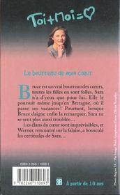 Toi+moi=coeur T.10 ; Le Bourreau De Mon Coeur - 4ème de couverture - Format classique