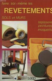 Revetements sols et murs - Couverture - Format classique