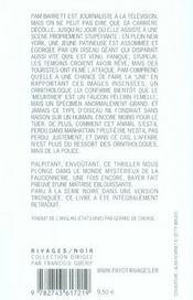 Pelerin - 4ème de couverture - Format classique