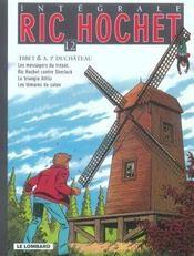 Ric Hochet ; INTEGRALE VOL.12 - Intérieur - Format classique