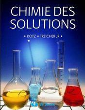 Chimie des solutions - Intérieur - Format classique