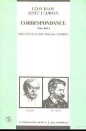 Correspondance 1900-1914 - Couverture - Format classique
