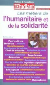 Les Metiers De L'Humanitaire Et De La Solidarite - Couverture - Format classique