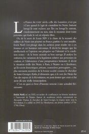 Etre Noir Au Xviiie Siecle - 4ème de couverture - Format classique