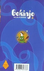 Gokinjo, une vie de quartier t.4 - 4ème de couverture - Format classique