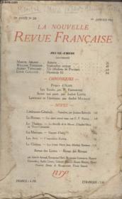 Collection La Nouvelle Revue Francaise N° 220. Antares Par Marcel Arland/ Septembre Ardent Par William Faulkner/ Idealiste De Province Par Albert Thibaudet. - Couverture - Format classique