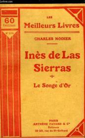 Ines De Las Sierras - Le Songe D'Or - Couverture - Format classique
