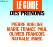 Le Guide Des Prenoms - Couverture - Format classique