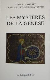 Les mystères de la Génèse - Couverture - Format classique