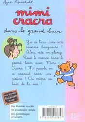 Mimi Cracra Dans Le Grand Bain - 4ème de couverture - Format classique