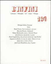 Revue L'Infini N.136 - Couverture - Format classique