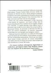 Les sables de l'Amargosa - 4ème de couverture - Format classique