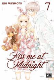 Kiss me at midnight T.7 - Couverture - Format classique