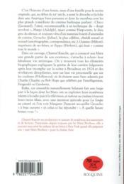 Les Marx brothers par eux-mêmes - 4ème de couverture - Format classique