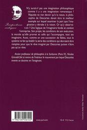 Descartes et ses fables - 4ème de couverture - Format classique