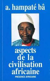 Aspects De La Civilisation Africaine - Intérieur - Format classique