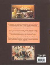 Le grand livre du chocolat - 4ème de couverture - Format classique