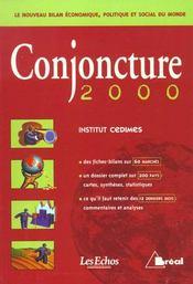 Conjoncture 2000 - Intérieur - Format classique