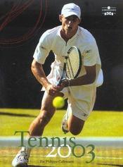 Tennis 2003 (édition 2003) - Intérieur - Format classique