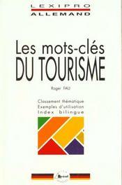LEXIPRO ; les mots clés du tourisme - Intérieur - Format classique