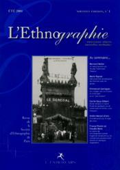 L'ethnographie ; nouveaux objets, nouvelles méthodes - Couverture - Format classique