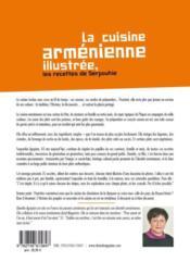 La Cuisine Armenienne Illustree ; Les Recettes De Serpouhie - 4ème de couverture - Format classique