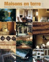 Maisons en terre - Couverture - Format classique
